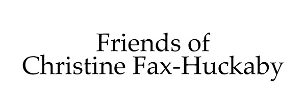 Friends of Christine Fax-Huckaby