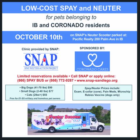 Coronado and IB Pet Clinic